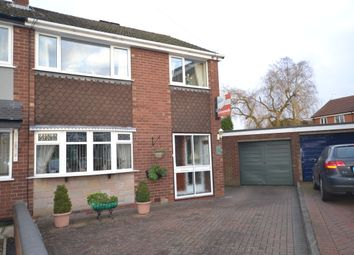 Thumbnail 3 bed semi-detached house for sale in Oban Close, Newcastle-Under-Lyme