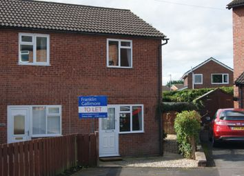 Thumbnail 1 bed terraced house to rent in Meadow Rise, Burford