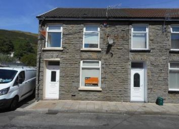 Thumbnail 3 bed end terrace house to rent in Ynysgau Street, Ystrad