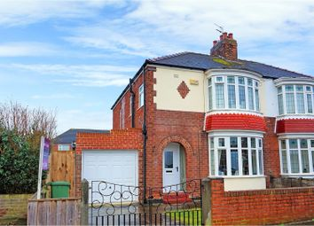 Thumbnail 3 bed semi-detached house for sale in Kingsley Road, Fairfield, Stockton-On-Tees