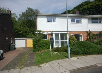 Thumbnail 3 bed semi-detached house to rent in St. Marys Close, Shincliffe, Durham