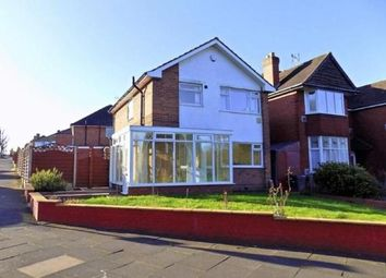 Thumbnail 3 bed detached house to rent in Glencroft Road, Solihull