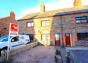 Thumbnail 2 bed terraced house for sale in Station Road, Ratby, Leicester