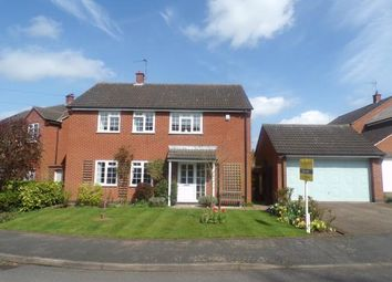 Thumbnail 4 bed detached house for sale in Wakes Close, Dunton Bassett, Lutterworth, Leicestershire