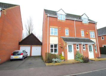 Thumbnail 3 bed detached house for sale in Marriott Close, Leicester Forest East, Leicester
