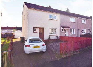 Thumbnail 2 bed end terrace house for sale in Blackness Street, Coatbridge