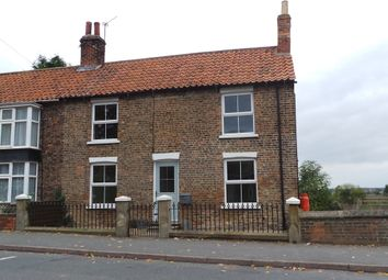 Thumbnail 3 bed semi-detached house for sale in High Street, Blyton, Gainsborough