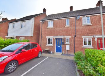 Thumbnail 2 bed end terrace house to rent in Broadview Close, Bridgefield, Ashford, Kent