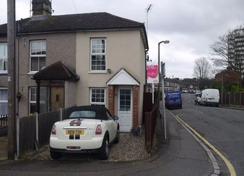 Thumbnail 2 bedroom end terrace house to rent in Milton Road, Warley, Brentwood, Essex