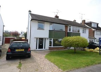 Thumbnail 3 bedroom semi-detached house for sale in Tennyson Road, Woodley, Reading