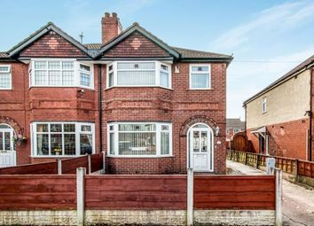 Thumbnail 3 bed semi-detached house for sale in Highbury Avenue, Urmston, Manchester, Greater Manchester