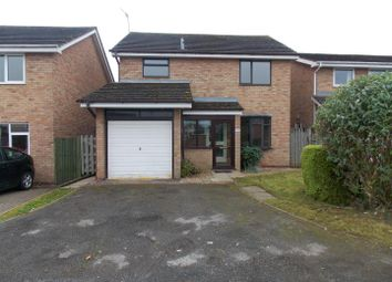 Thumbnail 3 bed detached house to rent in Arkle Road, Droitwich