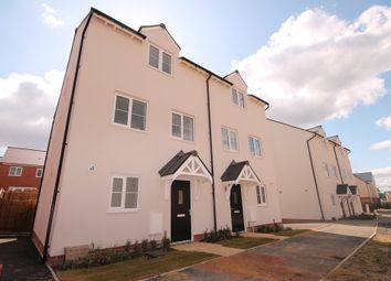 Thumbnail 3 bed town house for sale in St. James Way, Biddenham, Bedford