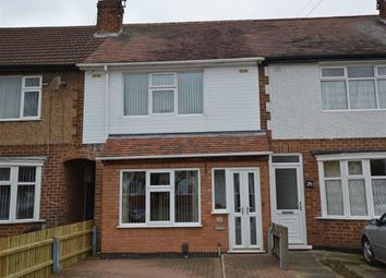 Thumbnail 3 bed terraced house for sale in Grantham Road, Leicester