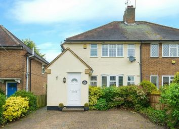 Thumbnail 3 bed semi-detached house for sale in Broadwater Lane, Harefield, Middlesex