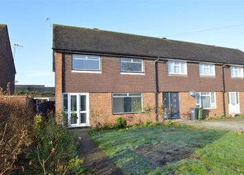 Thumbnail 3 bed end terrace house to rent in Bletchingley Close, Merstham, Redhill