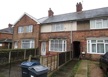 Thumbnail 2 bedroom terraced house to rent in Overton Road, Birmingham