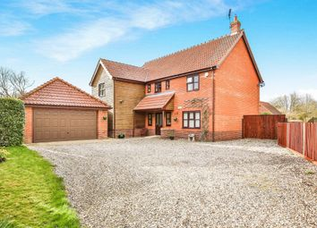 Thumbnail 4 bedroom detached house for sale in Shop Street, Whinburgh, Dereham