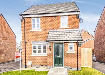 Thumbnail 3 bedroom detached house for sale in Gallus Drive, Hinckley