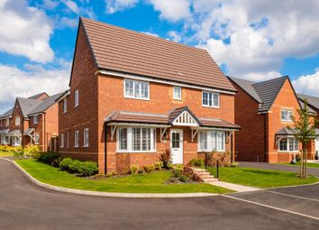 "Thumbnail 4 bed detached house for sale in ""Alnwick"" at Saxon Court, Bicton Heath, Shrewsbury"