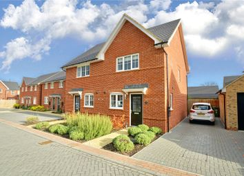 Thumbnail 3 bed semi-detached house for sale in Beck Court, St. Ives, Cambridgeshire