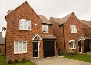 "Thumbnail 4 bed detached house for sale in ""The Warwick"" at Kirk Ley Road, East Leake, Loughborough"