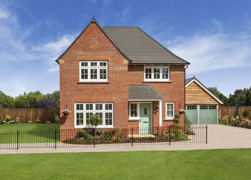 Thumbnail 4 bedroom detached house for sale in Weaver Park, Access Via School Lane, Hartford, Cheshire