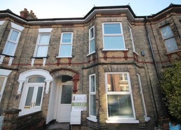 Thumbnail 3 bed town house to rent in Regent Road, Lowestoft, Suffolk