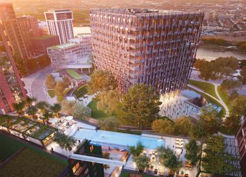 Thumbnail 3 bed flat for sale in Embassy Gardens Marketing Suite, 3 Viaduct Gardens, Nine Elms, London