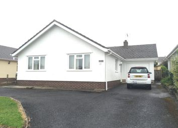Thumbnail 3 bed bungalow to rent in Meadow Road, Tenby, Pembrokeshire