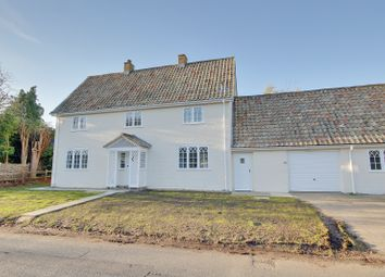 Thumbnail 3 bed link-detached house to rent in Hill Cottage, Wennington, Huntingdon