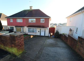 Thumbnail 3 bed semi-detached house for sale in Torridge Avenue, Torquay