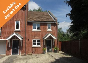 Thumbnail 3 bed end terrace house to rent in Quinton Fields, Emsworth, Hants