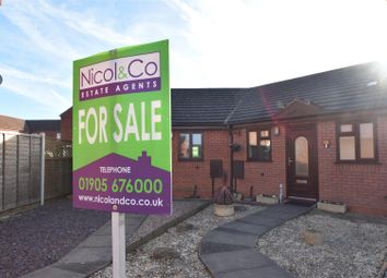 Thumbnail 1 bed terraced bungalow for sale in Bicton Avenue, Worcester, Worcestershire