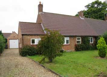 Thumbnail 2 bed bungalow for sale in Woodfield, Briston, Melton Constable, Norfolk
