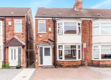 Thumbnail 3 bed end terrace house for sale in Etherington Road, Hull