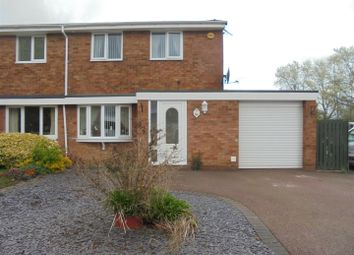 Thumbnail 2 bedroom semi-detached house for sale in Buckingham Crescent, Stirchley, Telford