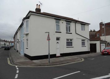 Thumbnail 2 bed end terrace house to rent in Trevor Road, Southsea