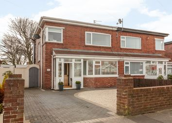 Thumbnail 3 bedroom semi-detached house for sale in Mill View Avenue, Fulwell, Sunderland