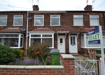 Thumbnail 2 bed terraced house to rent in Bedford Road, Hessle