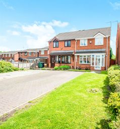 Thumbnail 3 bed semi-detached house for sale in Weston Drive, Burberry Grange, Tipton