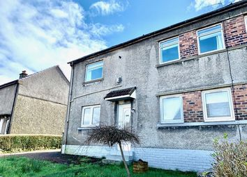 Thumbnail 2 bed flat for sale in Rockmount Avenue, Barrhead, Glasgow