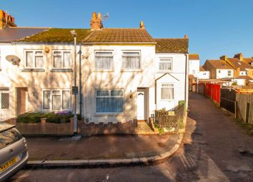 Thumbnail 2 bed end terrace house for sale in Burrow Road, Folkestone