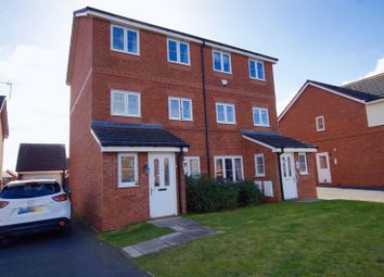 Thumbnail 4 bed semi-detached house to rent in Alyn Road, Gwersyllt, Wrexham