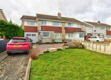 Thumbnail 5 bedroom semi-detached house for sale in Longfellow Road, Caldicot
