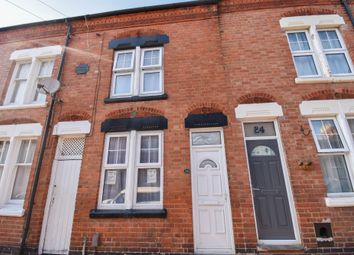 Thumbnail 3 bed terraced house to rent in Montague Road, Leicester