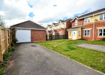Thumbnail 3 bed semi-detached house for sale in Wren Crescent, Scartho Top, Grimsby