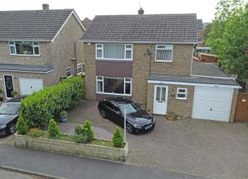 Thumbnail 4 bed detached house for sale in Cappitts Drive, Thurlby, Bourne