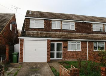 Thumbnail 3 bed semi-detached house for sale in Vowler Road, Langdon Hills, Basildon