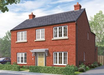 "Thumbnail 4 bed detached house for sale in ""The Tetbury"" at Greenhill Road, Coalville"